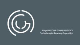 // Praxis für Psychotherapie Mag.a Martina Gohm-Windisch | Signetgestaltung, Konzeption Corporate Design